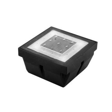 Pavé LED solaire encastrable éclairage blanc