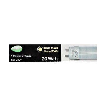 Pack de 20 Tubes LED T8 Vision-EL 18W 3000K 1200mm 7607
