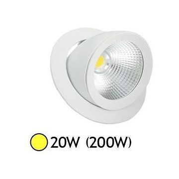 Spot LED Escargot ORIENTABLE 20W 3000°K VISION-EL 7671