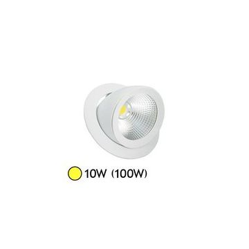SPOT LED Escargot ORIENTABLE 10W 3000°K VISION-EL 7673