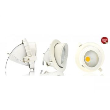 Spot LED escargot ORIENTABLE 20W 3000°K VISION-EL 76712
