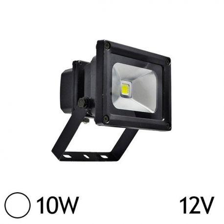 Projecteur LED 10W 6000K Noir VISION-EL 8001N