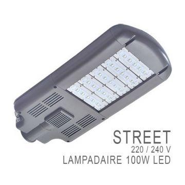 TETE DE LAMPADAIRES ROUTIER ALU 100 WATT IP 67