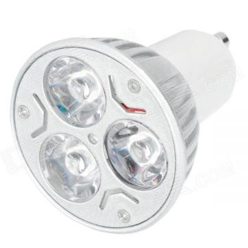 Ampule led GU10 dimmable 6W blanc chaud