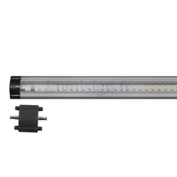 B50T RALLONGE REGLETTE TACTILE LED / 5W / 24 LED / TAILLE 50CM - 400 lumens / blanc chaud 3500k - Lumihome