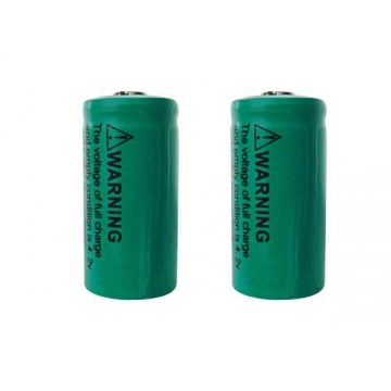 CR123AR PILES LITHIUM CR-123A rechargeable 800mAh 3V (lot de 2)  - Lumihome