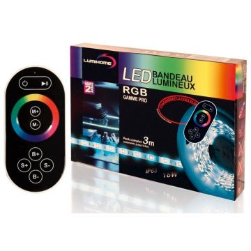 RGB/SRK2M KIT PRO COMPLET LED RGB 3M - 90 LED - 12V - IP65 - Lumihome