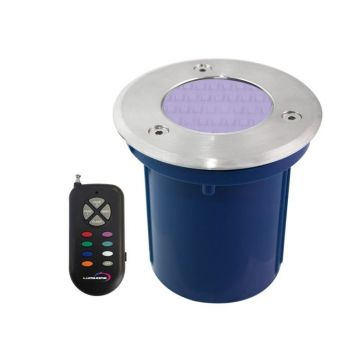 Spot encastrable 28 LED 12V RGB multicouleur 100mm LUMIHOME