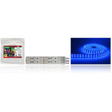 BANDE LED COULEURS  IP67 5 M  120 LEDS  28,8 W / M IP67 SILICON