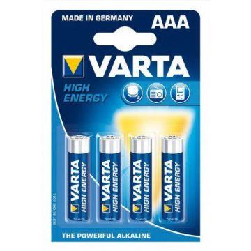 LR03_4B Blister de 4 piles AAA VARTA Alcaline (Boîte de 10 Pcs) - Lumihome