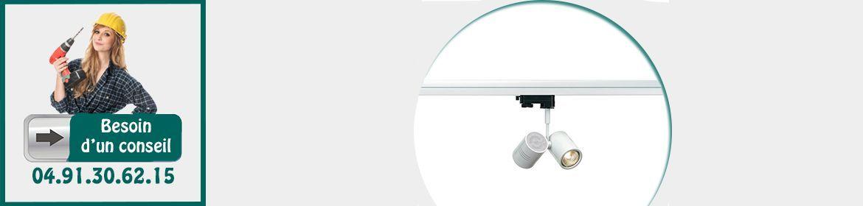 Projecteurs sur Rails / Cables