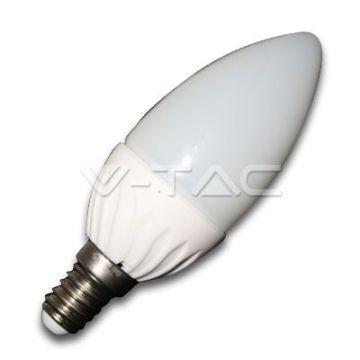 Ampoule LED 4W E14 Bougie 6000K VT-1818