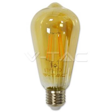 Ampoule LED 4W Filament E27 A60 3000K Dimmable VT-1964D