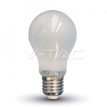 Ampoule LED 6W Filament E27 A60 Opaque 6400K VT-1935