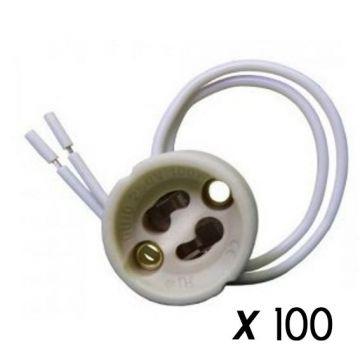 Lot de 100 Douilles GU10