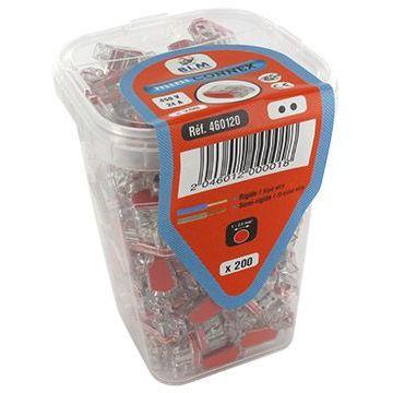 Bte connecteur Mini rouge
