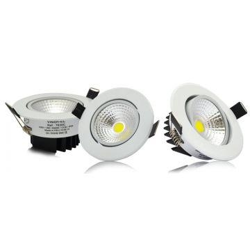 LED 1x3 WATT COB SPOT PLAFOND 6000°K BOITE