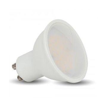 VT-1975LED Spotlight - 5W GU10 SMD White Plastic 320Lm 4500K 110°