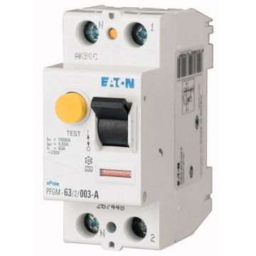 INTER DIFF 2X63A 30mA TYPE AC