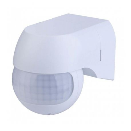 VT-8028PIR Wall Sensor With Moving Head White -