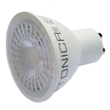 LED SPOT GU10 5W/175-265V 38° SMD WARM WHITE LIGHT