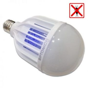 SP1819 LED MOSQUITO BULB E27 8W+2W NEUTRAL WHITE LIGHT - NEW