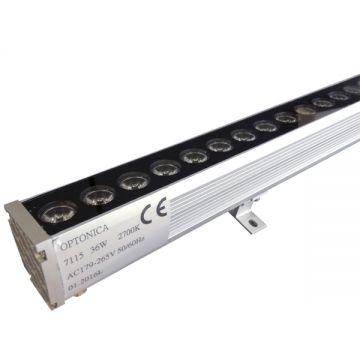 WW7115 36W/220V LED WALL WASHER WARM WHITE LIGHT 1M - IP65 EPISTAR