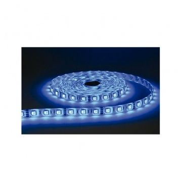 BANDE LED COULEURS+BLANC 5 M 60 LEDS  14,4 W / M IP20 24V