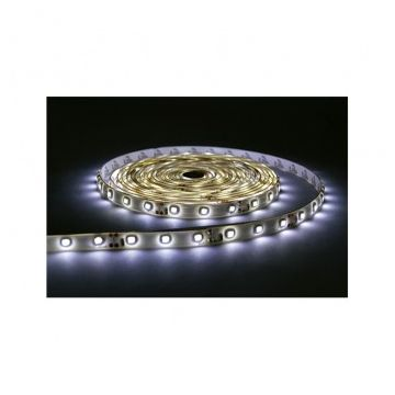 BANDE LED BLANC 6000°K 5 M 60 LEDS 14.4 W / M IP20