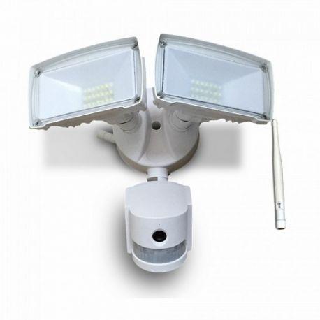 Double Projecteur LED Avec Caméra WIFI