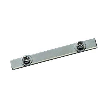 Connecteur pour PROFIL ALUMINIUM DOWNUNDER, chrome, 1 pièce