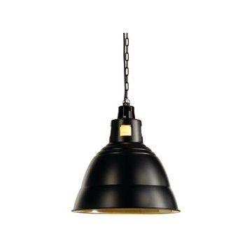 Suspension PARA 380 avec réflecteur, noir