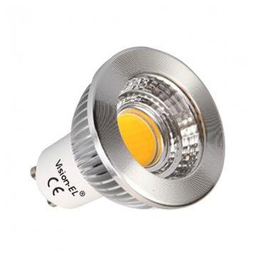 AMP Vision-EL LED 6 WATT GU10 COB 3000K BOI ALUMIN 75°