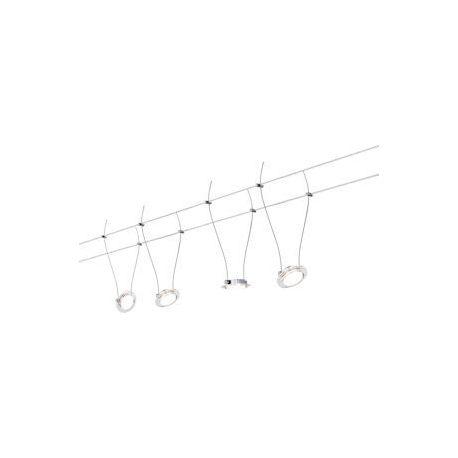 Kit câble DC kit LED Twist Coin 4x4W chr