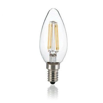 Ampoule LED E14 à filament 4W 2700K IDEAL LUX 101224