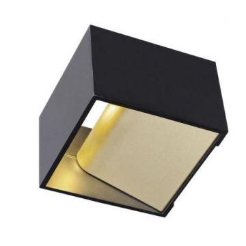 LOGS IN, applique, noir/laiton, LED 12W 2000K-3000K Dim to Warm