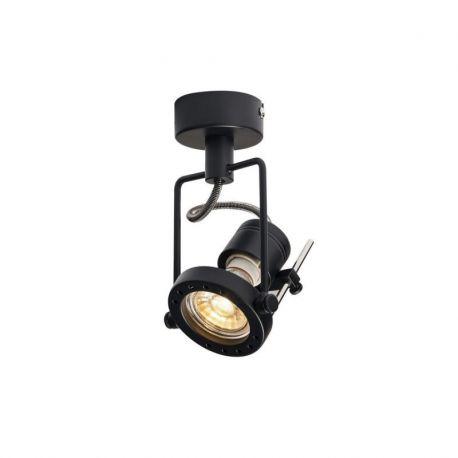 NAUTIC SPOT, applique/plafonnier, noir, QPAR51 max. 50W
