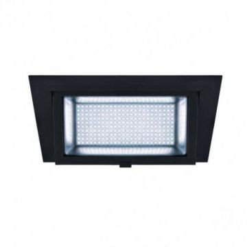 ALAMEA LED, encastré, noir, LED 35W 4000K