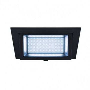 ALAMEA LED, encastré, noir, LED 45W 4000K
