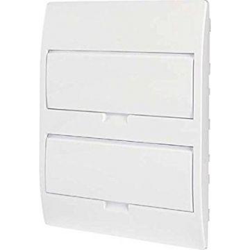 Eco Petite armoire de distribution encastrable, 2 rangées de 18 Te, IP40