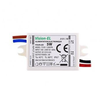 ALIM LED VISION-EL 12V DC 350mA LED 5W IP67