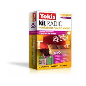 Yokis KITRADIOVARVVP KIT RADIO VARIATION VA-ET-VIENT POWER