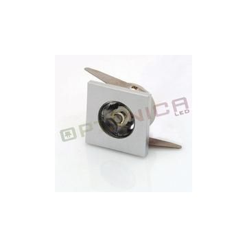 DL2116 1W LED BUILT-IN DOWNLIGHT SQUARE MINI MODULE WARM WHITE LIGHT