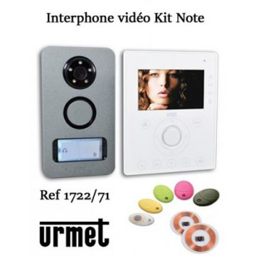 Kit video note couleur ml