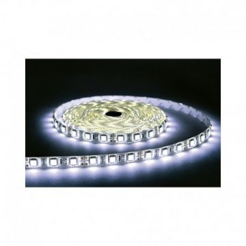 BANDE LED BLANC 4000°K 5 M 60 LEDS 14.4 W / M IP65 24V EPOXY