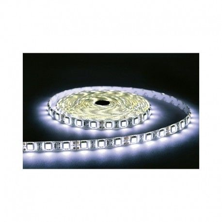 BANDE LED BLANC 4000°K 5 M 60 LEDS 14.4 W / M IP65 24V EPOXY