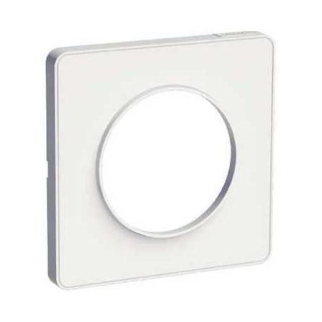 Schneider Electric S520802 Cadre Touch 1 élément, Blanc