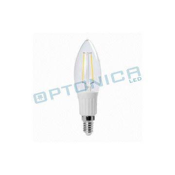 LED BULB E14 2W 220V 2700K - Filament