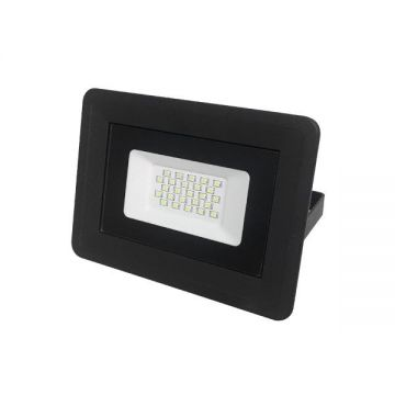 LED SMD FLOODLIGHT BLACK 20W AC170-265V 100° IP65 6000K - CLASSIC LINE2