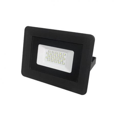 LED SMD FLOODLIGHT BLACK 20W AC170-265V 100° IP65 6000K - CLASSIC LINE2